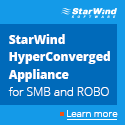 Starwind Virtual SAN - 100% Less Hardware