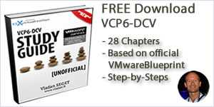 Download Free VCP6-DCV Study Guide