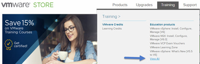 Save 15 % on VMware Training Courses