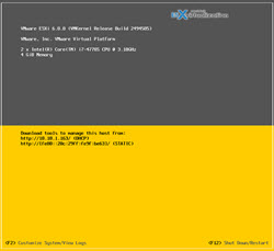 Patch ESXi 5.5 to ESXi 6.0