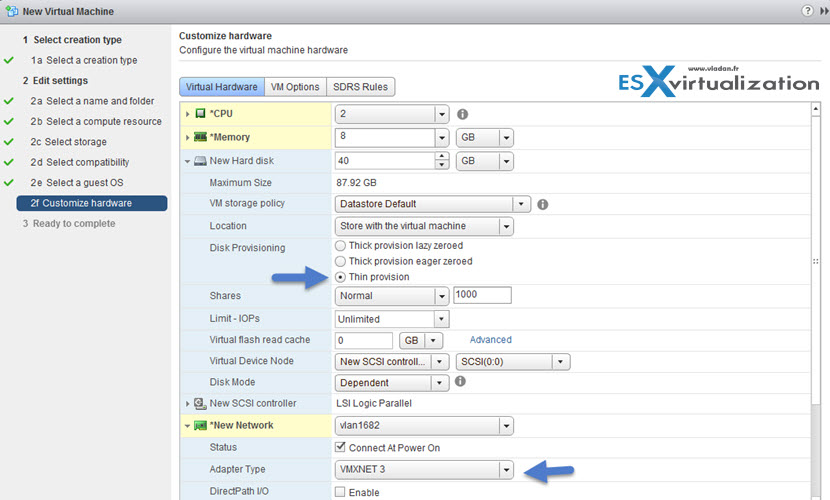 Nested ESXi 6 lab install