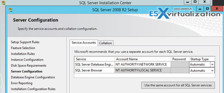 Install VMware Mirage Management Server