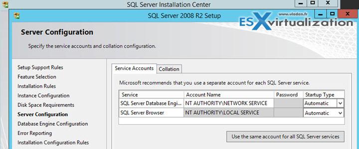Install VMware Mirage Management Server