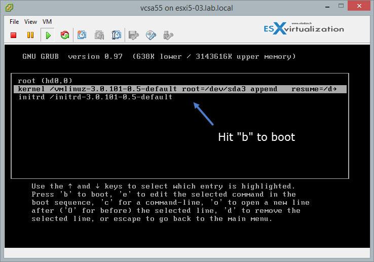How-to unlock the VMware VCSA root password? | ESX