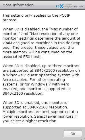 3D Rendering - VMware Horizon View