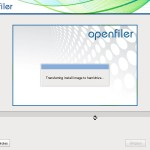 Installation of Openfiler 2.99 for my VMware vSphere Lab