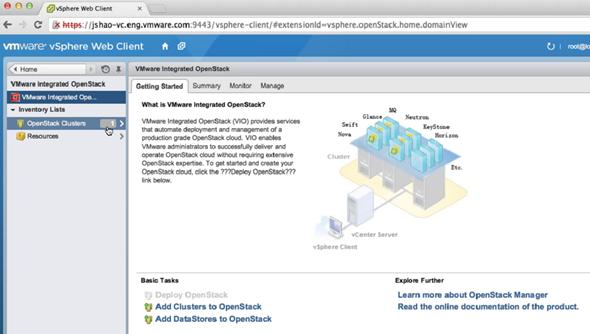 VMware vSphere Open Stack Integration
