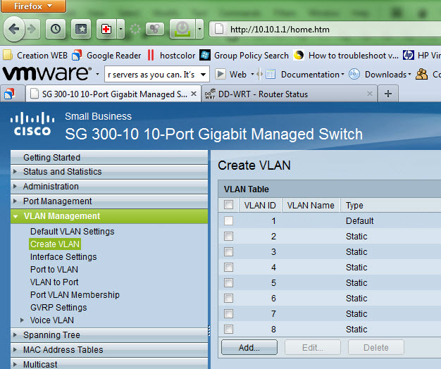 My homelab – The Network design with Cisco SG 300 - a Layer