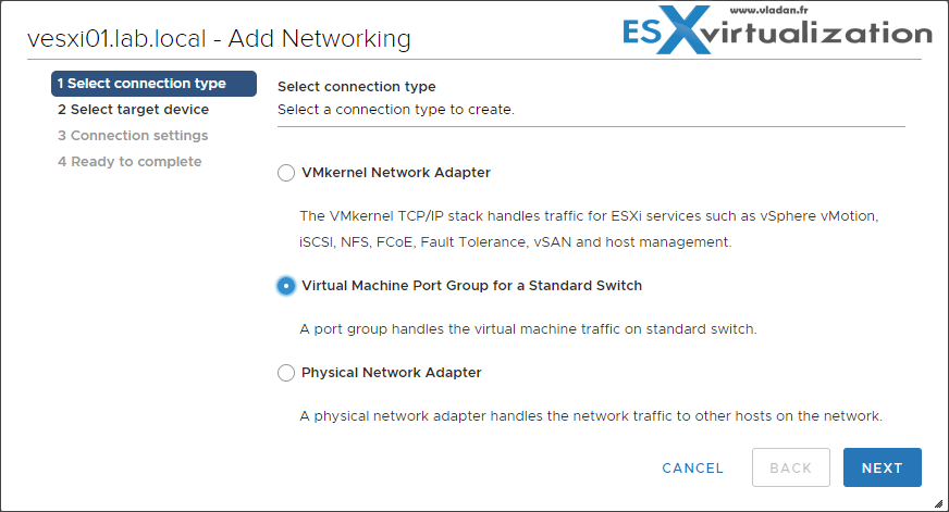 VCP6 7-DCV Objective 4 5 - Configure virtual networking