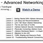 VMware vSphere Advanced Networking – New training