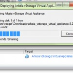 Deploying Arkeia vStorage Virtual Appliance