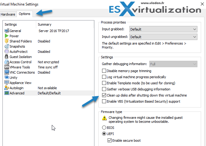 VMware Workstation 2017 Tech Preview Cool Features | ESX