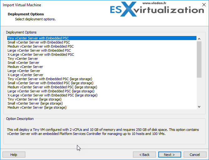 Deploy VMware vCSA with VMware Workstation