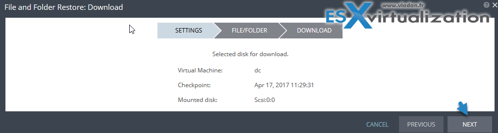 How to Restore individual Files from Journal File Level