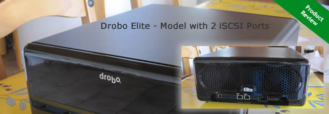 Drobo Elite – iSCSI SAN which supports multi host environments