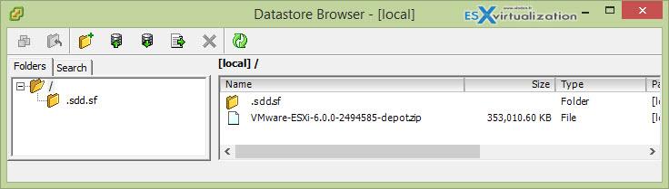 ESXi Offline Bundle VMware-ESXi-6.0.0-2494585-depot.zip