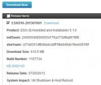 ESXi bundle update - ESXi510-201307001