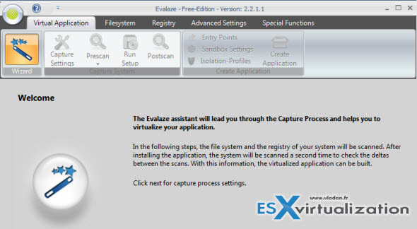 Thinapp Alternative Called Evalaze which also offers Free version | ESX Virtualization
