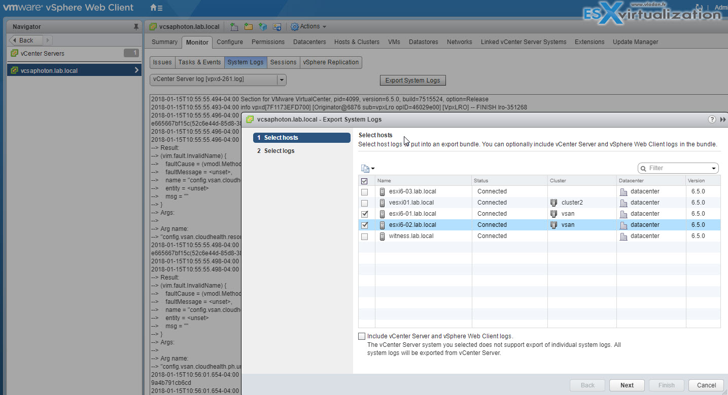 VCP6 5-DCV Objective 7 3 - Troubleshoot vSphere Upgrades and