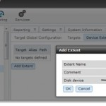 How to configure FREENAS 8 to export iSCSI disk