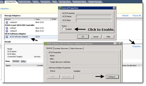 How to configure FreeNAS 8 iSCSI connection to ESX(i) server