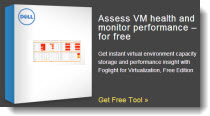 Foglight Free Tools VMware