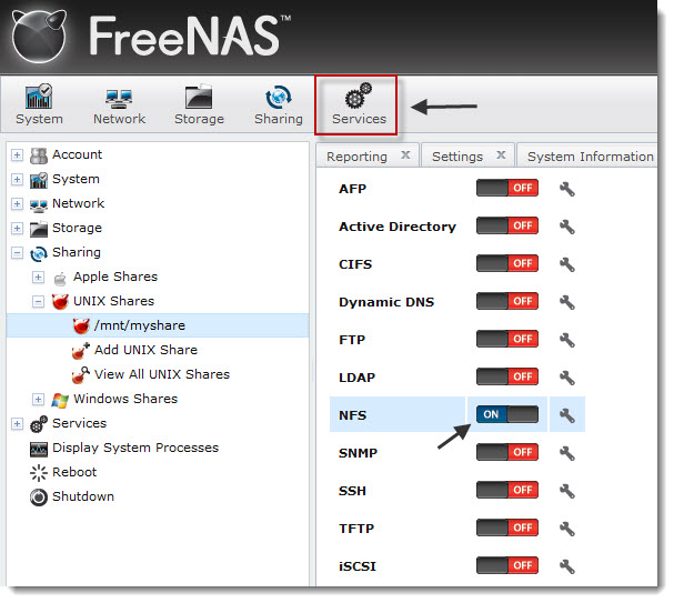 How to install and configure FreeNAS 8 for VMware vSphere Home lab