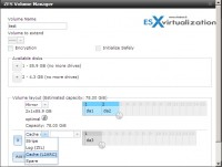 Freenas9.1 - Volumes management