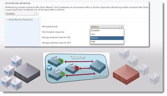 VMware High Availability Cluster (HA)