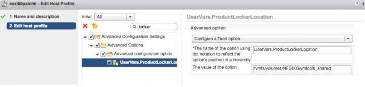 VMware vSphere 6.5 Host Profiles