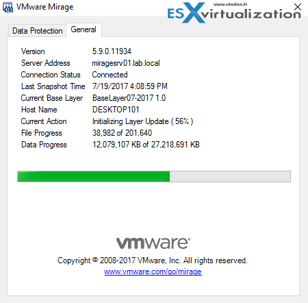 How to Apply a VMware Mirage App Layer