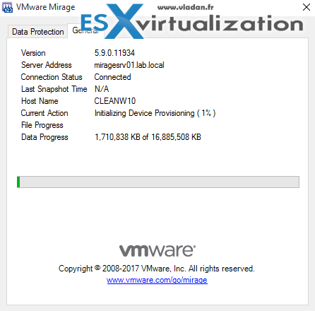 How to Apply a VMware Mirage Base Layer