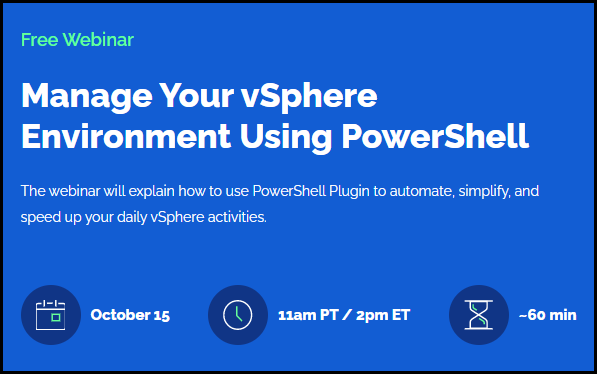 How to Manage Your VMware vSphere Environment with PowerShell