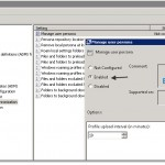 How-to configure VMware View persona management