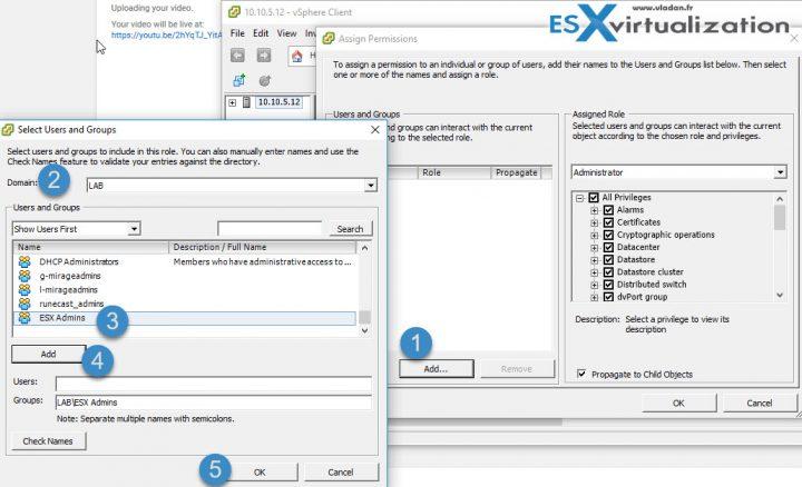 How to reset ESXi root password via Microsoft AD