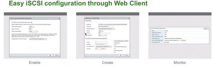 VMware VSAN 6.5 iSCSI configuration