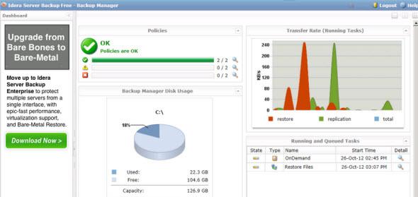 Idera Server Backup - Free version