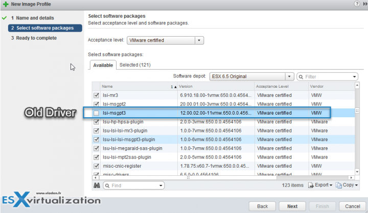 VMware vSphere 6.5 Image Builder GUI and AutoDeploy