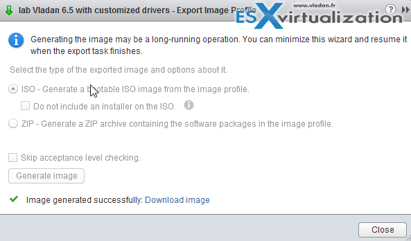 how to use iso image in vmware