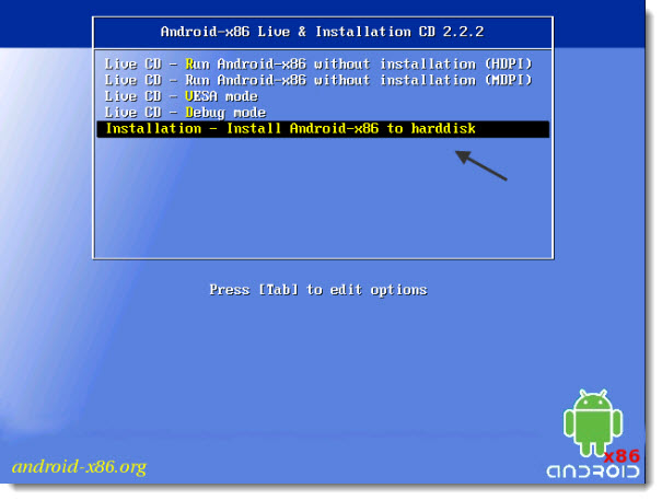 How to Install Android in VMware Workstation 8.1