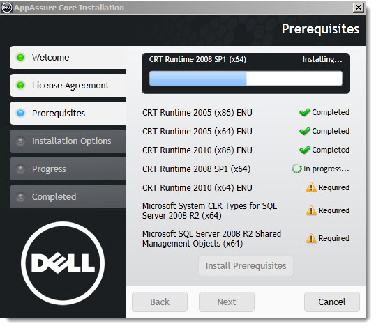 Dell Appassure 5 - VMware Backup, Replication and Recovery Software