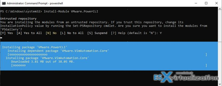 How To Install VMware PowerCLI via PowerShell | ESX