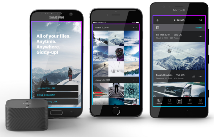 Link - a shared storage for your family
