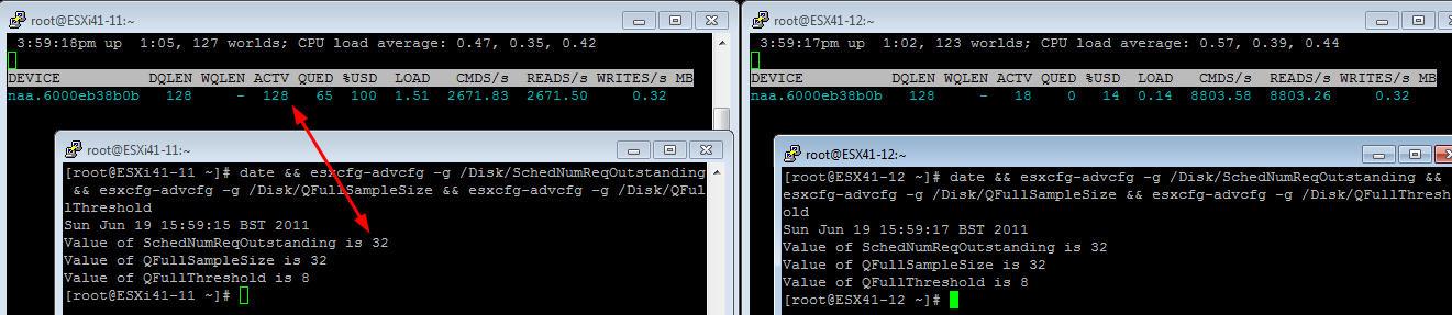 SIOC and Adaptive Queue Depth testing on iSCSI LUNs | ESX