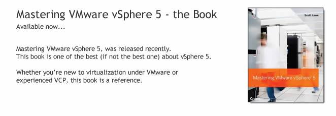 Mastering VMware vSphere 5 released