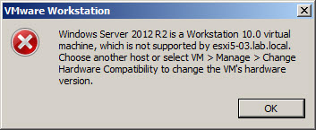 VMware Workstation 10 Hardware Compatibility