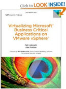 Microsoft business critical apps vsphere Books