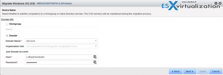 Migrate Windows 7 To Window 10 With VMware Mirage