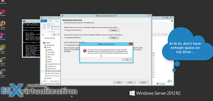 How to migrate vCenter Server 6.0 to 6.5 Windows (In-place migration)
