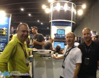 Sylvain Siou, Myself and Mattias Sundling - Nutanix booth